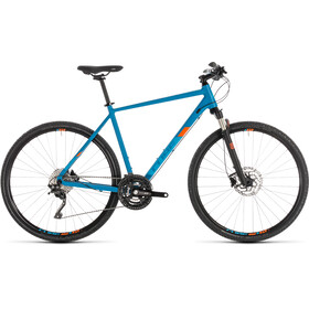 Cube Cross Pro Hybrid Bike blue